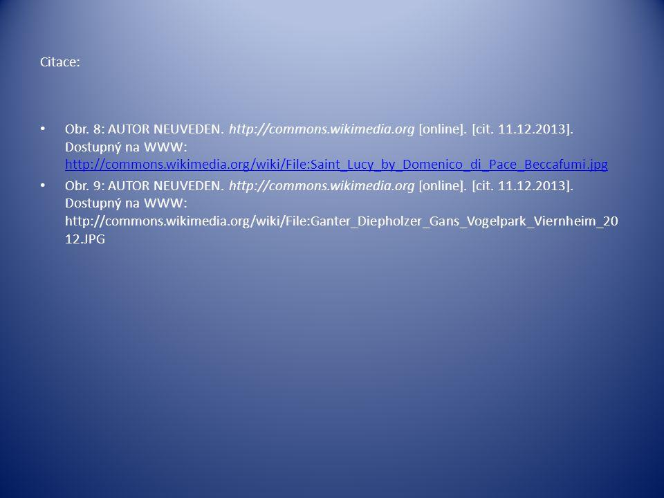 Citace: Obr. 8: AUTOR NEUVEDEN. http://commons.wikimedia.org [online].