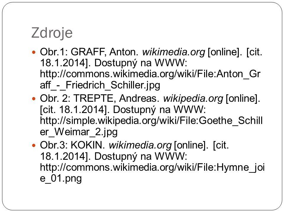Zdroje Obr.1: GRAFF, Anton. wikimedia.org [online].