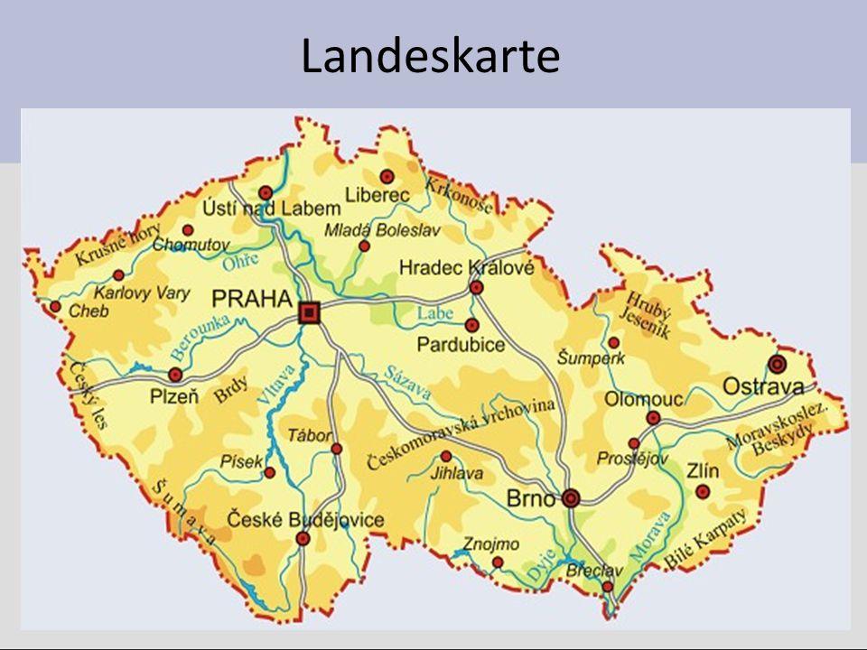 Nachbarländer Im Norden hat Tschechien die Grenze mit ……..