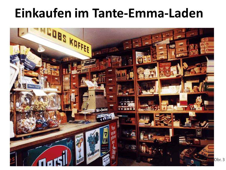 Einkaufen im Tante-Emma-Laden Obr. 3