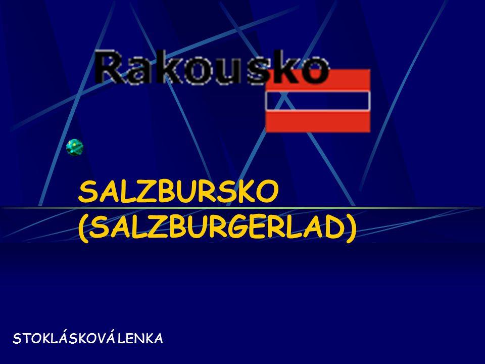 SALZBURSKO (SALZBURGERLAD) STOKLÁSKOVÁ LENKA