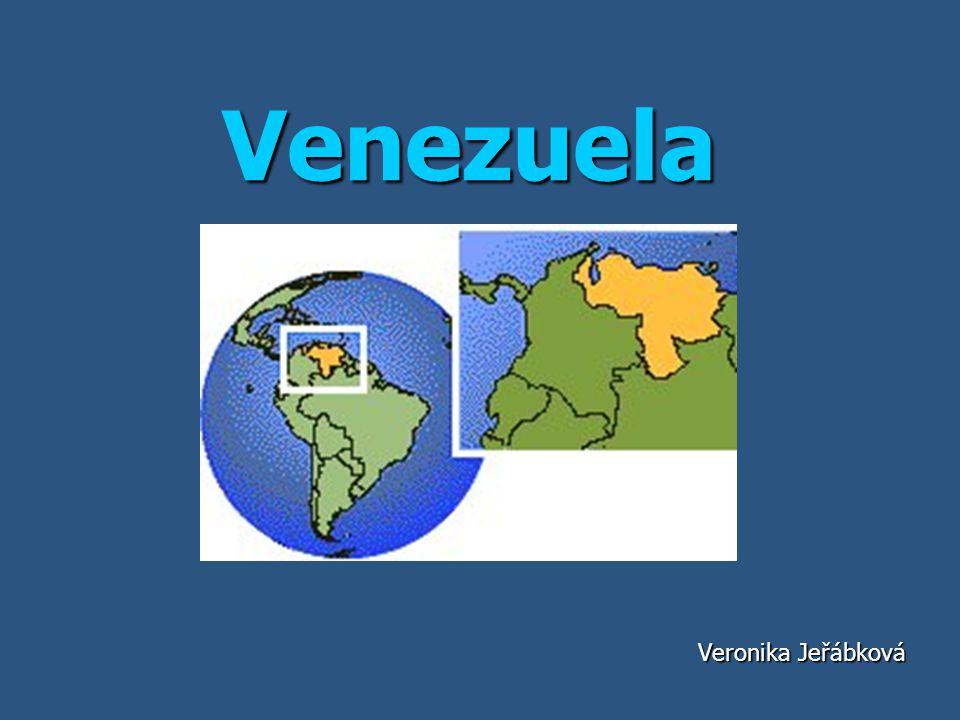 Základní informace Hlavní město je Caracas Hlavní město je Caracas Počet obyvatel je přibližně 26 414 815 Počet obyvatel je přibližně 26 414 815 Jazyk - Španělština Jazyk - Španělština Měna - venezuelský bolívar Měna - venezuelský bolívar Rozloha 916 445 km² Rozloha 916 445 km² Státní zřízení je republika Státní zřízení je republika