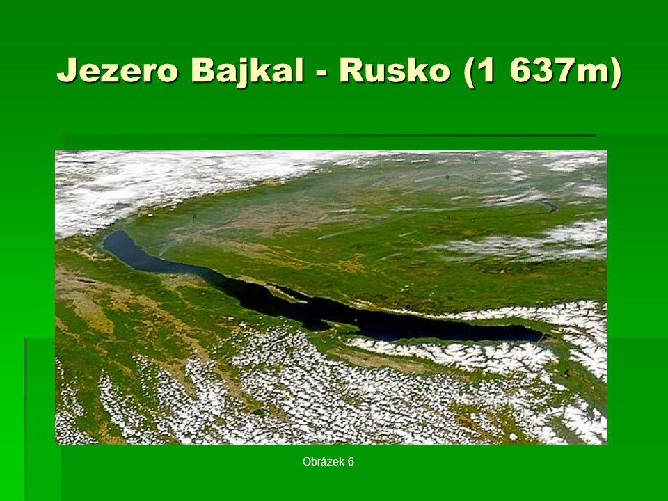 Jezero Bajkal - Rusko (1 637m) Obrázek 6