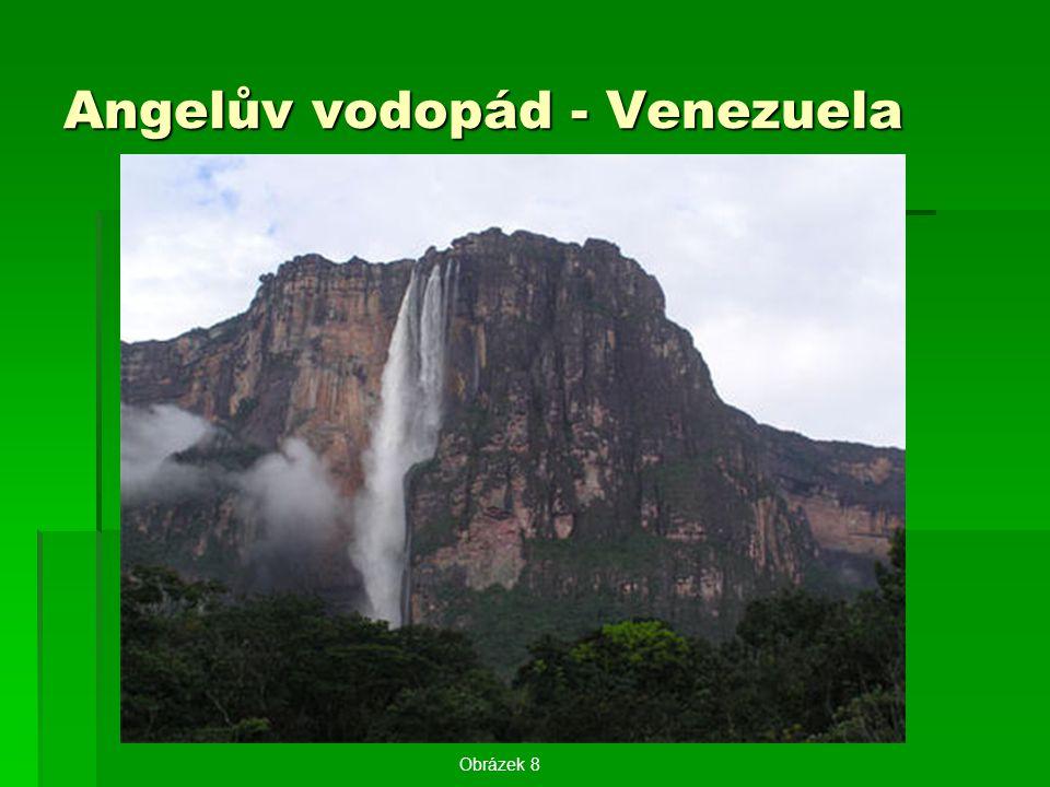 Angelův vodopád - Venezuela Obrázek 8
