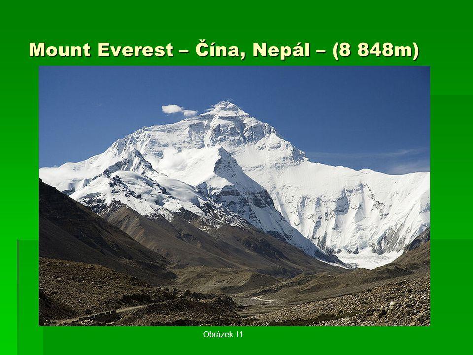 Mount Everest – Čína, Nepál – (8 848m) Obrázek 11