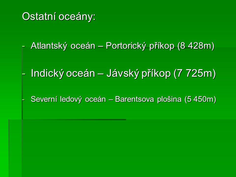 2. Největší moře Tichý oceán – Filipínské moře Obrázek 2