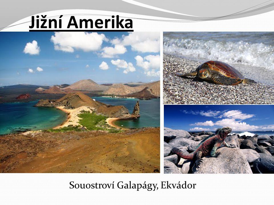 Jižní Amerika Souostroví Galapágy, Ekvádor