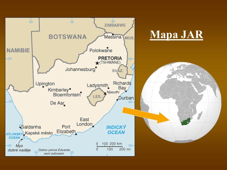 Mapa JAR