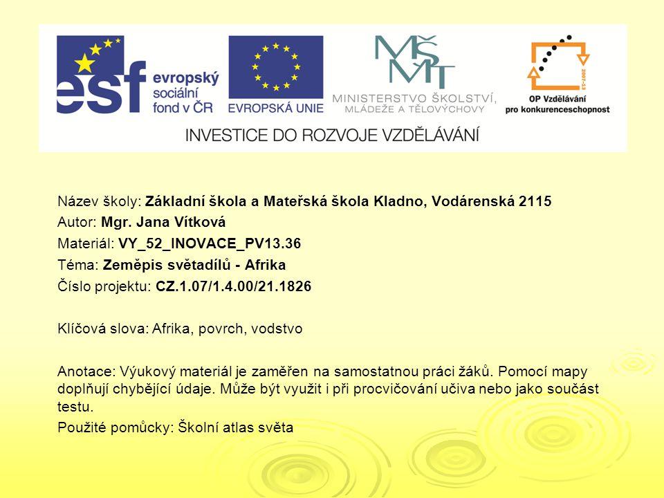 VY_52_INOVACE_PV13.36 VY_52_INOVACE_PV13.36