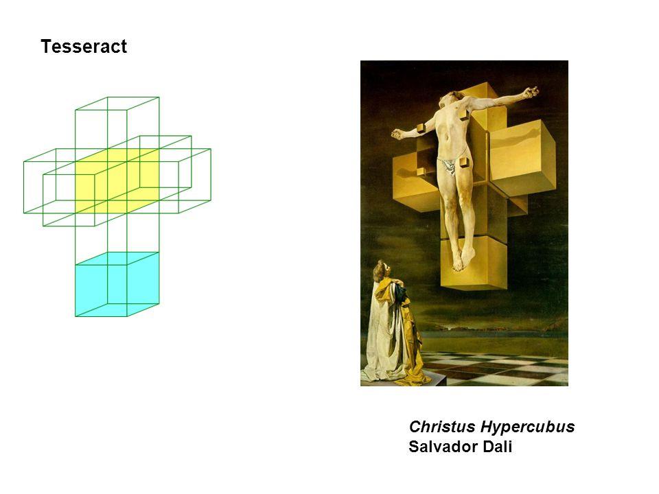 Tesseract Christus Hypercubus Salvador Dali