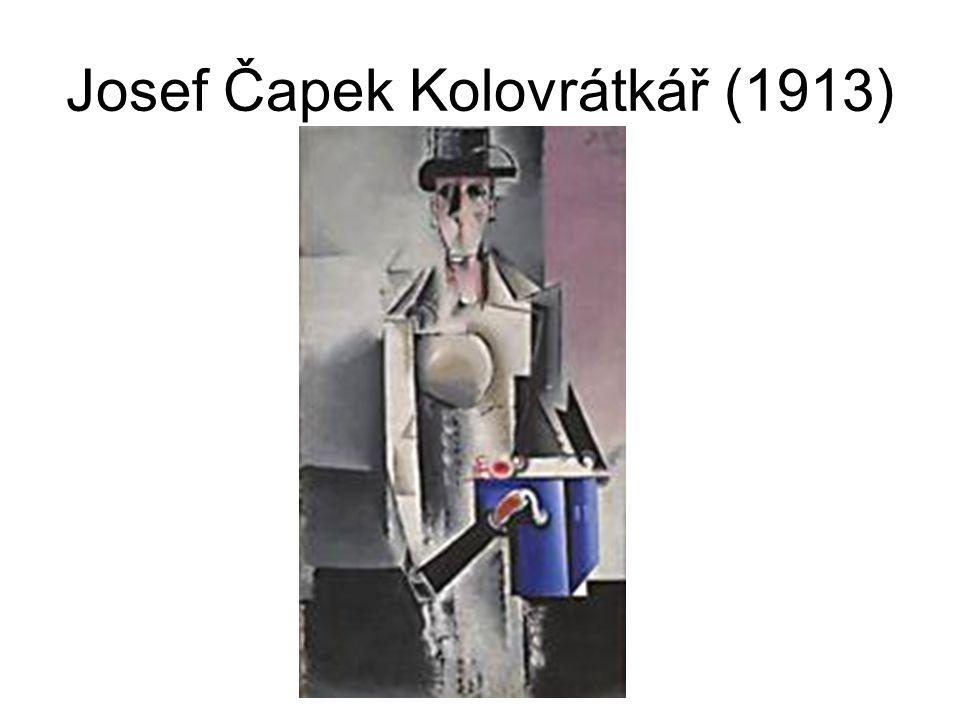 Josef Čapek Kolovrátkář (1913)