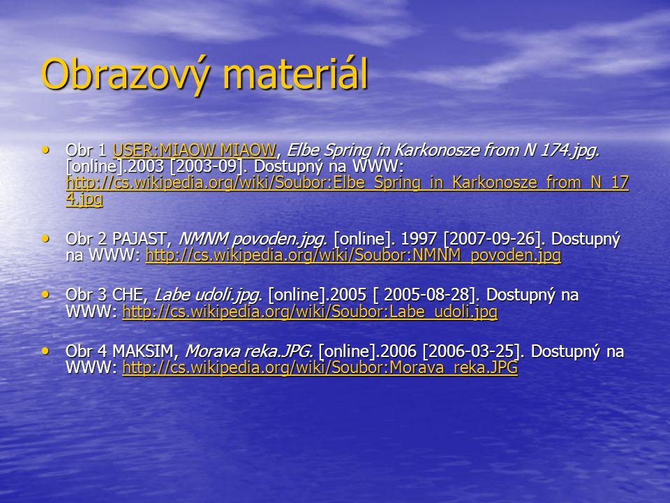 Obrazový materiál Obr 1 USER:MIAOW MIAOW, Elbe Spring in Karkonosze from N 174.jpg.