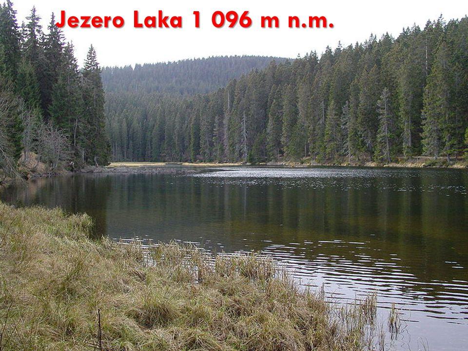 Jezero Laka 1 096 m n.m.
