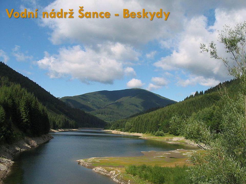Vodní nádrž Šance - Beskydy