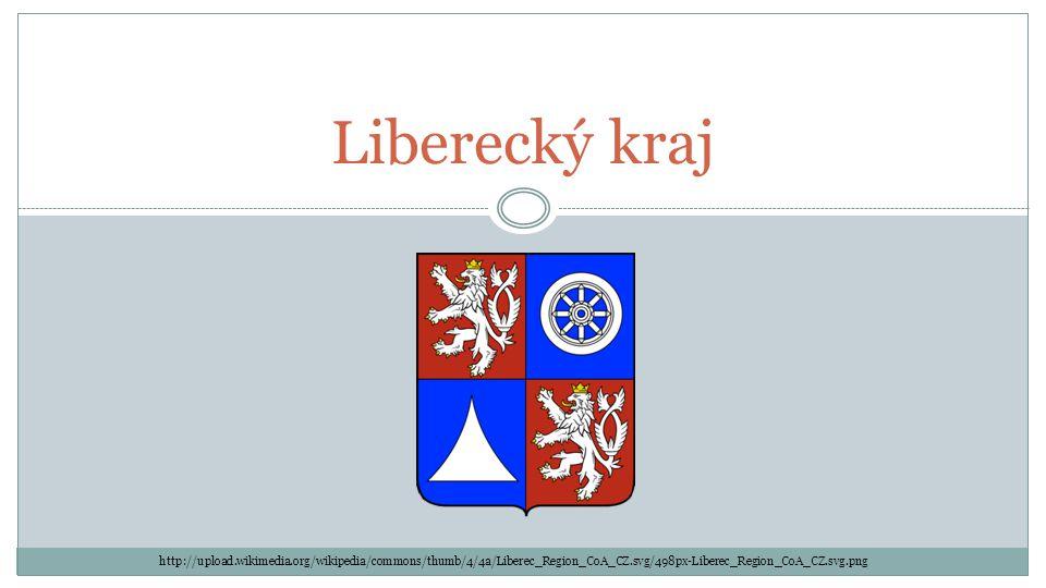 Liberecký kraj http://upload.wikimedia.org/wikipedia/commons/thumb/4/4a/Liberec_Region_CoA_CZ.svg/498px-Liberec_Region_CoA_CZ.svg.png