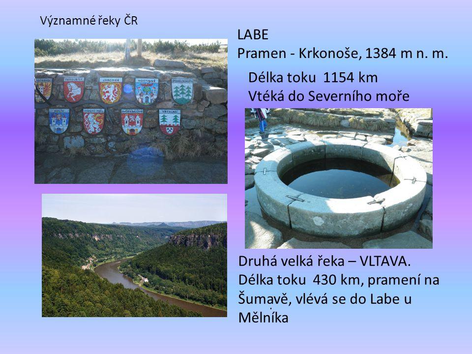 LABE Pramen - Krkonoše, 1384 m n.m..