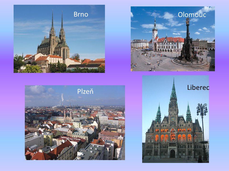 Plzeň Brno Olomouc Liberec