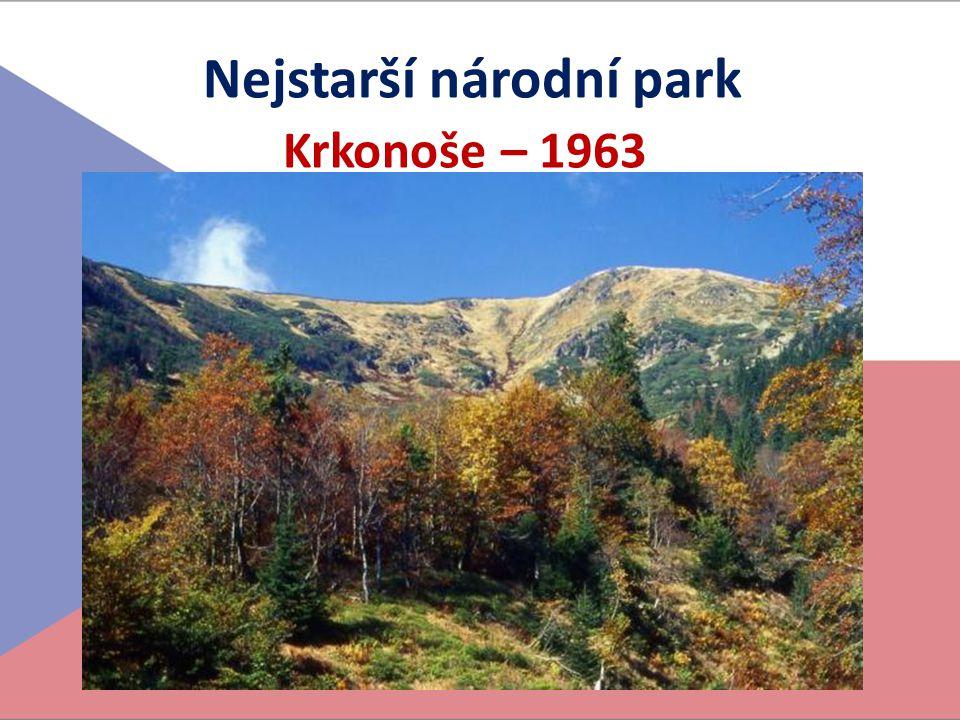 Nejstarší národní park Krkonoše – 1963