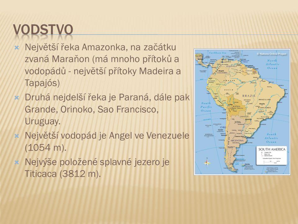  Charakteristická je rasová struktura se značným počtem míšenců  Mesticové dnes tvoří většinu obyvatel v Mexiku, pevninských státech Střední Ameriky, andských zemí (kromě Chille) a v Paraguayi  Indiáni žijí v pralesích a horských oblastech  Běloši převažují v Argentině, Uruguayi, Kostarice a v Chille  V karibské oblasti převládají mulati a černoši Města:  Ciudad de Mexico je největší městskou aglomerací na světě (20 milionů obyvatel)  Další velká města: Sao Paulo, Rio de Raneiro, Buenos Aires a Lima  Pro velká města jsou typické rozsáhlé chudinské čtvrti (slumy)