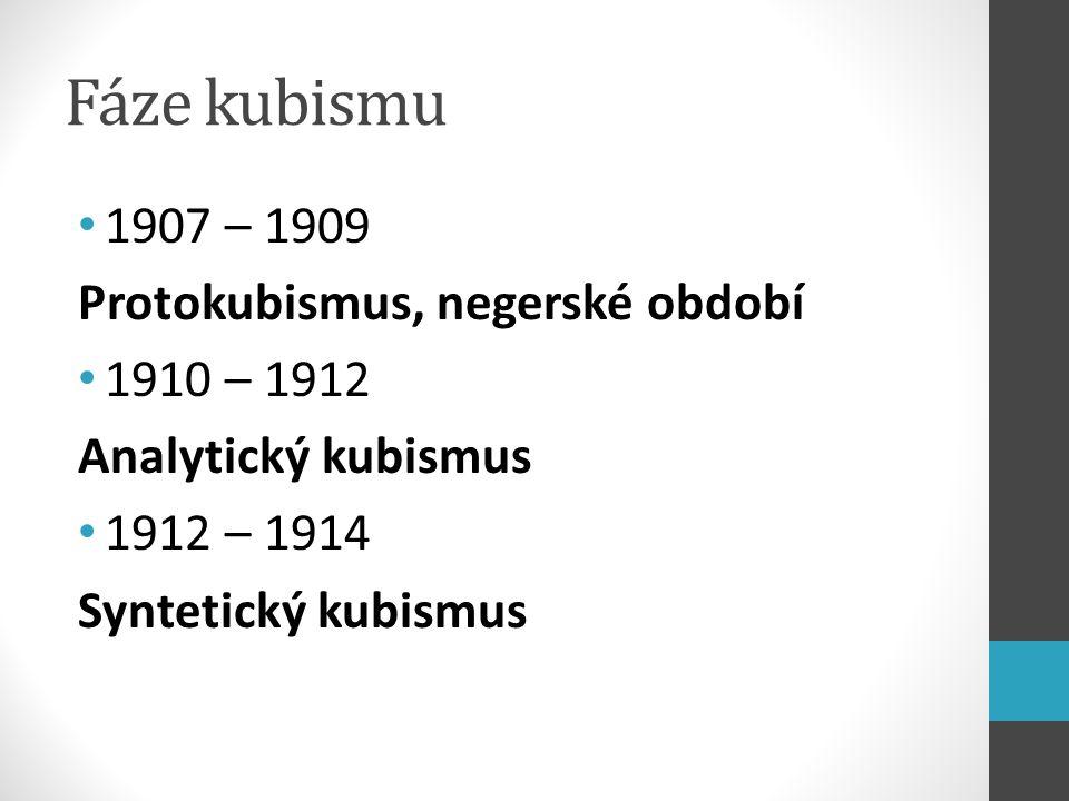 Kuboexpresionismus Čechy vliv Picassa a Braqua specifický styl skupina Osma B.