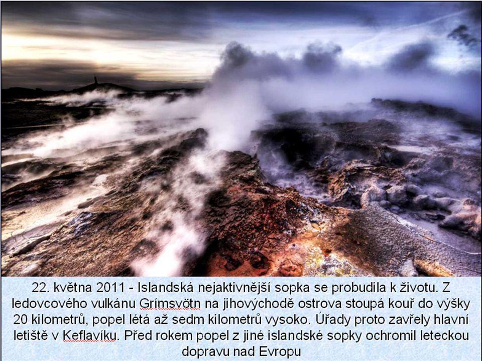 """Hekla a Grímsvötn jsou nejaktivnějšími sopkami ostrova. Ve středověku Islanďané Heklu nazývali """"Brána do pekla"""". Její erupce se opakují téměř pravidel"""