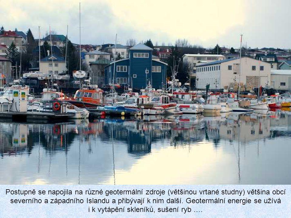 """Všechno špatné je ale pro něco dobré! S využitím termálních vod pro vytápění (i chodníků!) se nejdříve začalo v Reykjavíku (1939), který je dnes """"měst"""