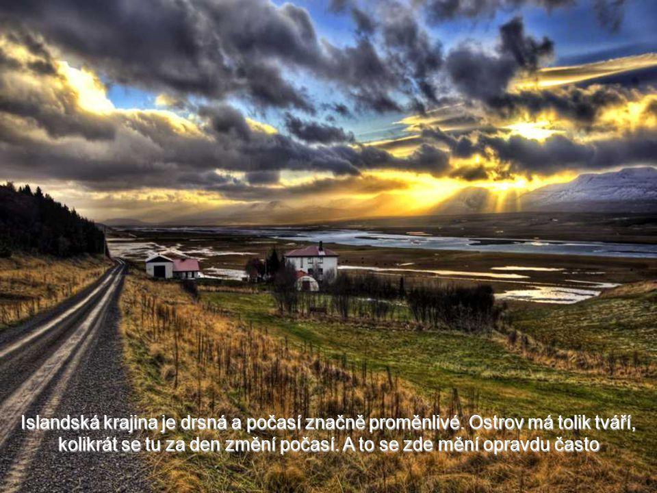 Modré nebe Islandu