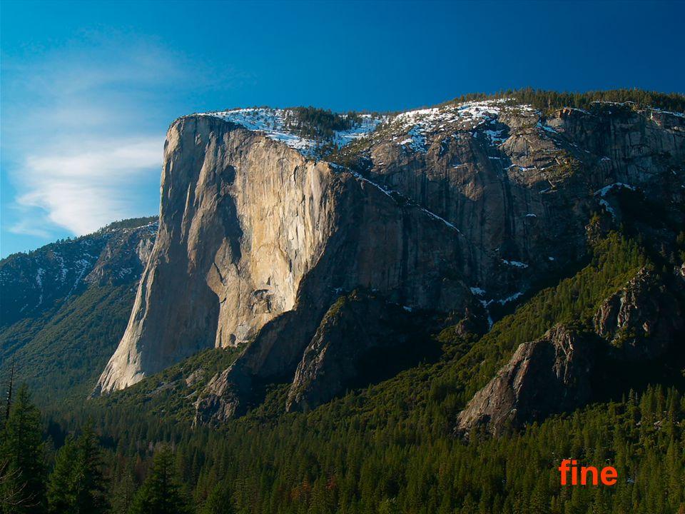 El Capitan - nejvyšší souvislá převislá stěna na světě