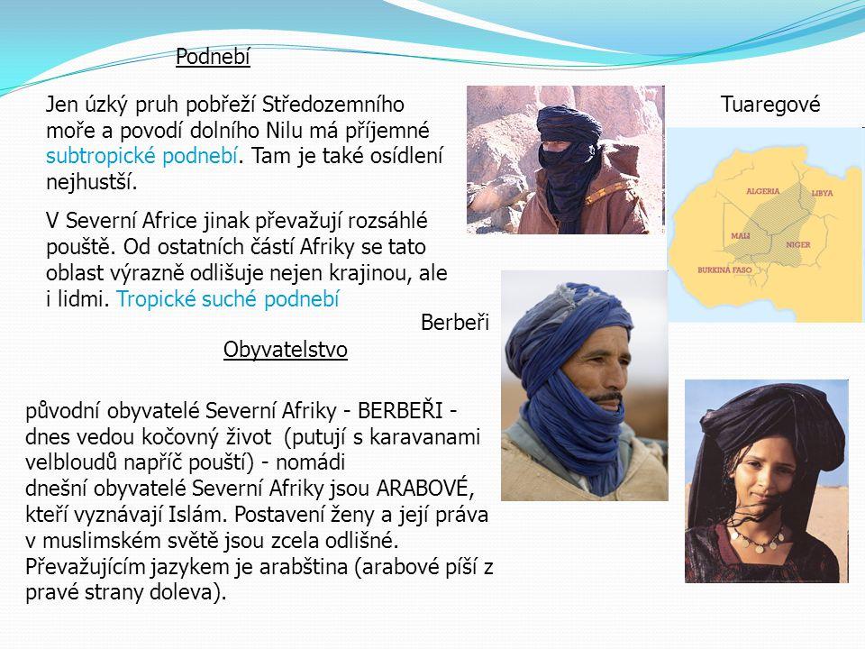 Kultura Severní Afrika je přirozeně dělena do tří kulturních regionů : Maghreb (Severozápadní Afrika), Sahara, a údolí Nilu Po období středověku bylo území pod kontrolou Osmanské říše až na Maroko.