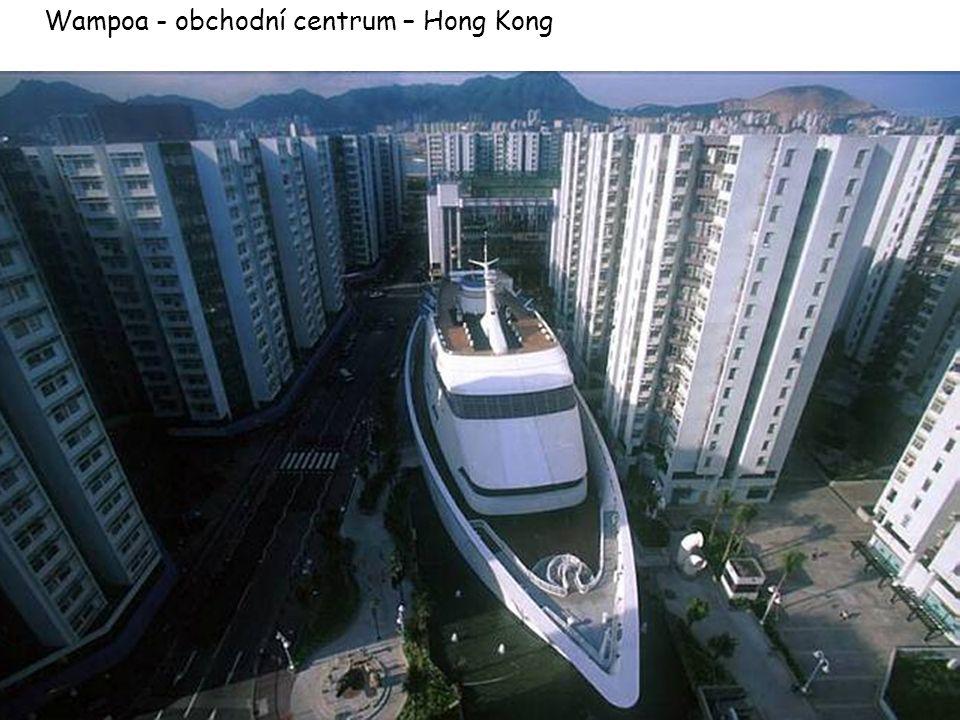 Wampoa - obchodní centrum – Hong Kong