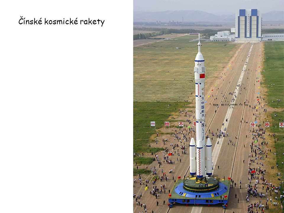 Čínské kosmické rakety