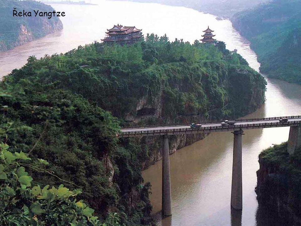 Řeka Yangtze
