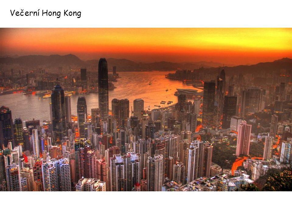 Večerní Hong Kong
