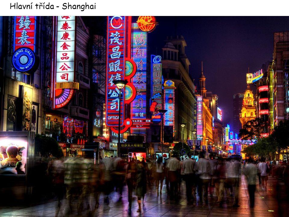 Hlavní třída - Shanghai