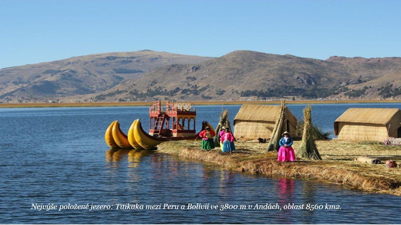 Nejžhavější místo: Dallol v Etiopii (sopečné místo) 34, 5°C střední / rok