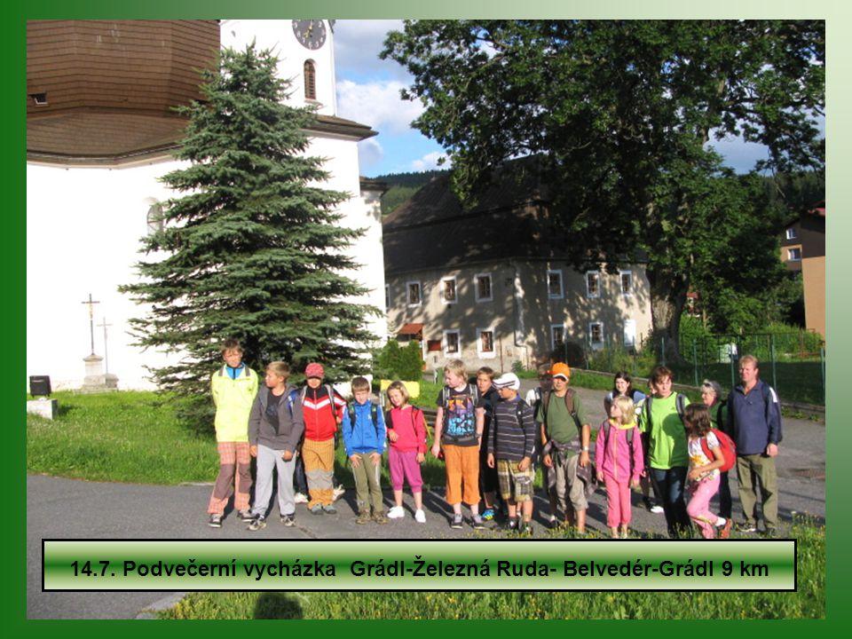 Tábor Šumava již po sedmé 14.7.-21.7.2012