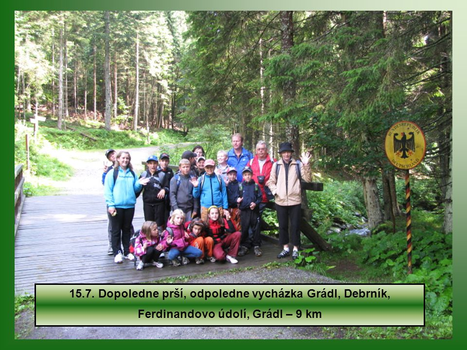 Pravou nohou v Německu a levou v Česku