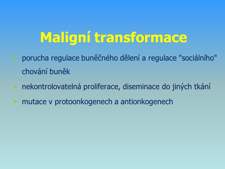 Protinádorové imunitní mechanismy