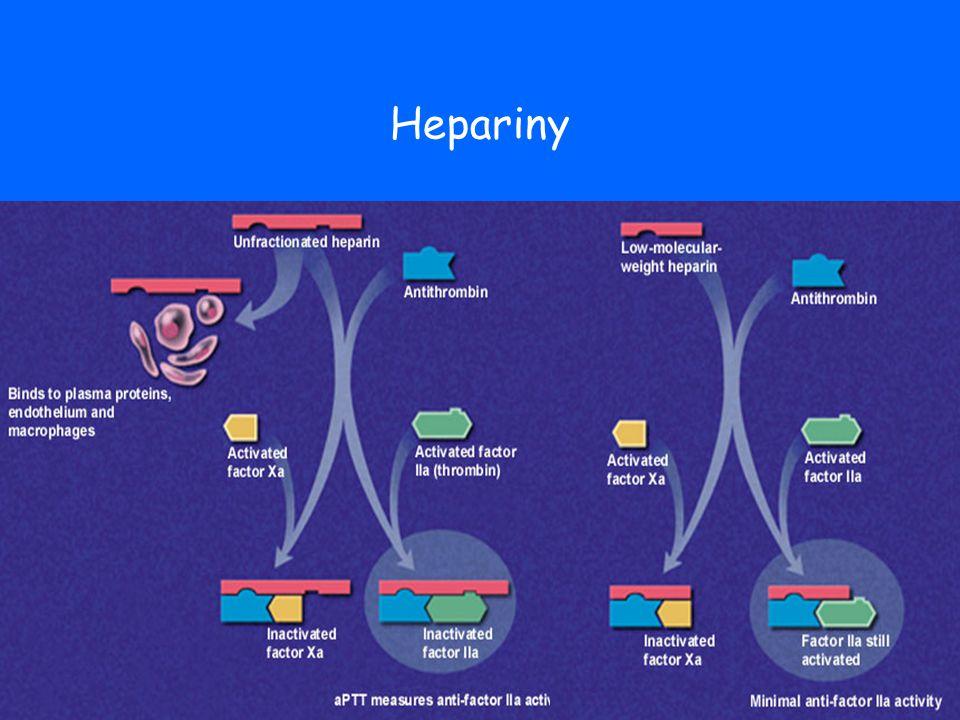 Heparinem indukovaná trombocytopenie I.