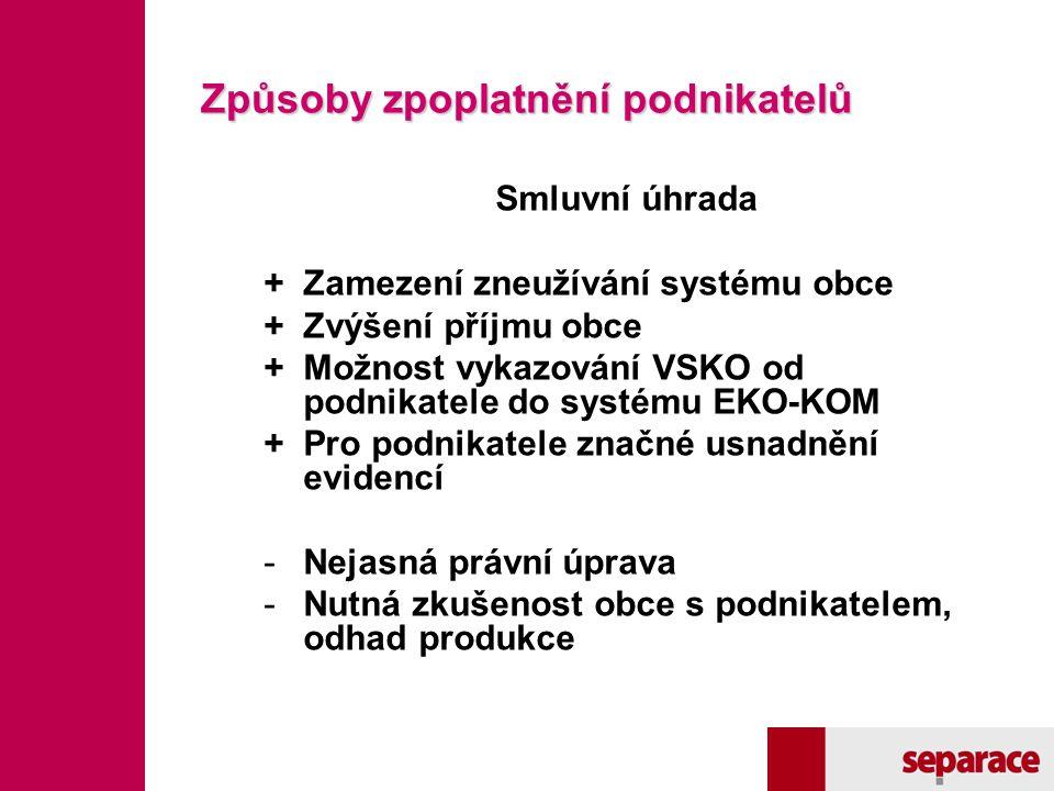 """Fotodokumentace Stanoviště s """"komplexní službou v jednom místě nádoby na sběr SKO i VSKO."""