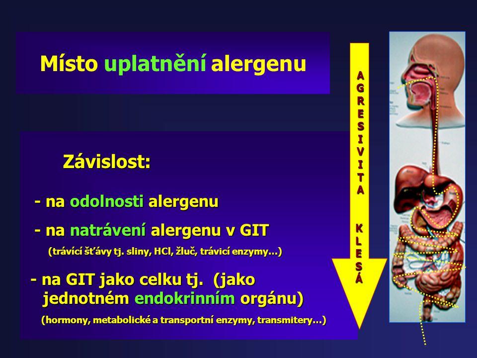Termostabilita alergenů: Termostabilita alergenů: ( jinak se chovají v syrovém stavu x tepelné zpracování) ( jinak se chovají v syrovém stavu x tepeln