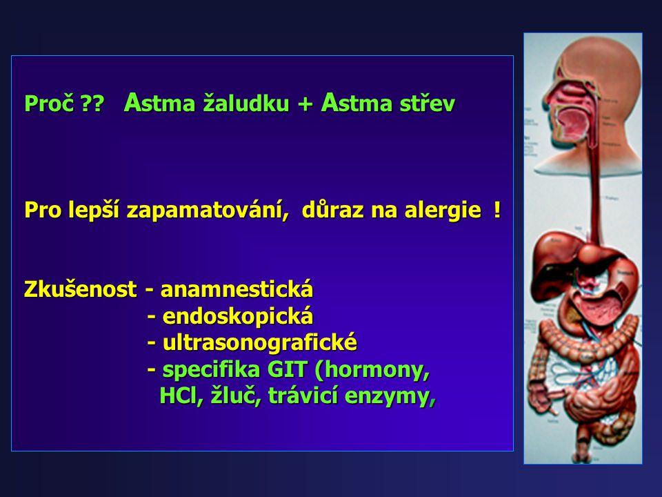 Orální alergický syndrom (OAS) Orální alergický syndrom (OAS) Potravinové alergie Potravinové alergie A STMA Ž ALUDEČNÍ (AG) A STMA Ž ALUDEČNÍ (AG) A
