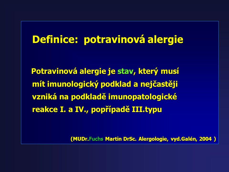 některé nemoci je vidět na některé nutno myslet na některé nutno myslet potravinové alergie !!! potravinové alergie !!!