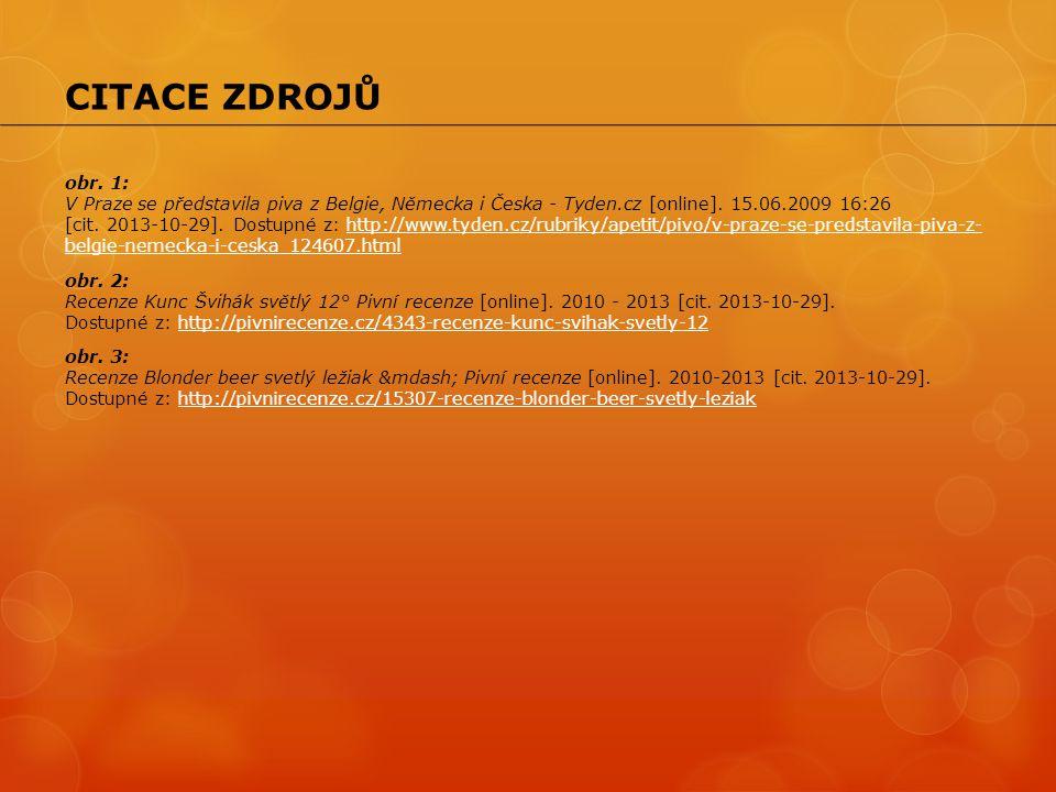 obr. 1: V Praze se představila piva z Belgie, Německa i Česka - Tyden.cz [online]. 15.06.2009 16:26 [cit. 2013-10-29]. Dostupné z: http://www.tyden.cz