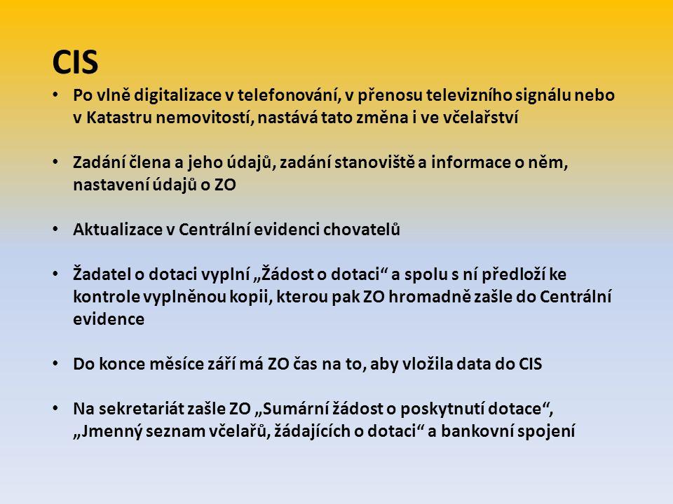 """Některé OO ČSV, o.s., neprovádí kontrolu """"Seznamů včelařů, jimž byla vyplacena dotace 1.D. , zaslaných od ZO ČSV, o.s., proto při následné kontrole na sekretariátu ČSV nacházíme mnoho nedostatků např.: ZO ČSV, o.s., při výplatě finančních prostředků nedokládají plné moce seznamy jsou podepsané stejnou rukou nebo podpis chybí úplně na seznamu jsou uvedeny jiné částky než je dotace, protože z prostředků určených na jedno včelstvo od MZe ČR, strhávají poplatky a členské příspěvky, což je nepřípustné chyby vznikají i při zasílání dotace poštovní poukázkou nebo na číslo účtu jednotlivým včelařům, kde také strhávají poštovné a čl."""