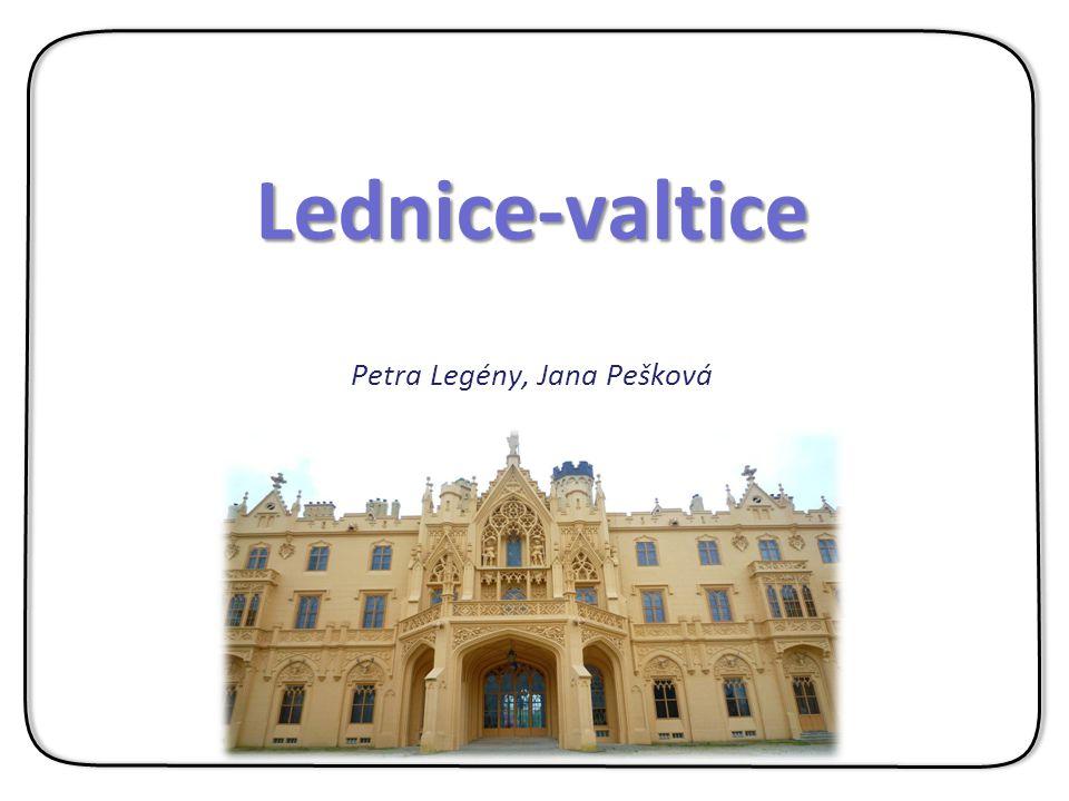 Petra Legény, Jana Pešková Lednice-valtice