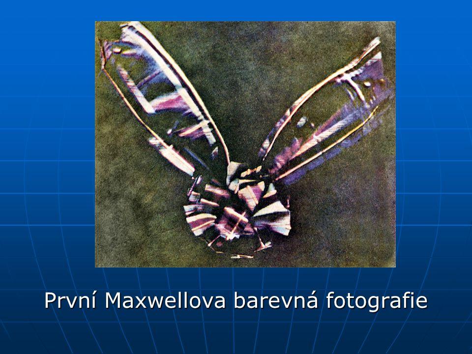 První Maxwellova barevná fotografie