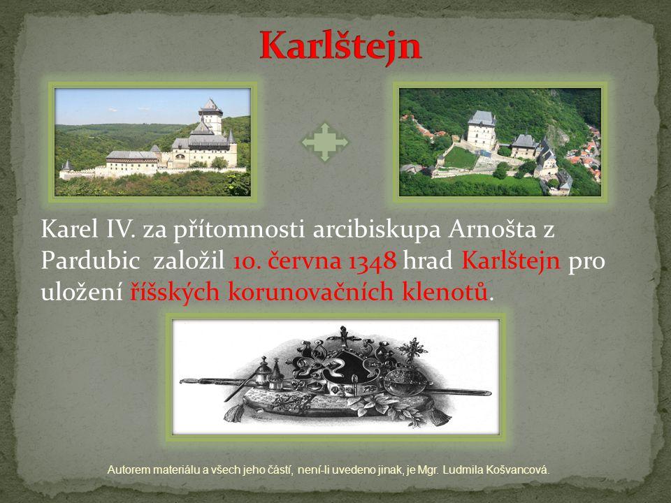 Autorem materiálu a všech jeho částí, není-li uvedeno jinak, je Mgr. Ludmila Košvancová.