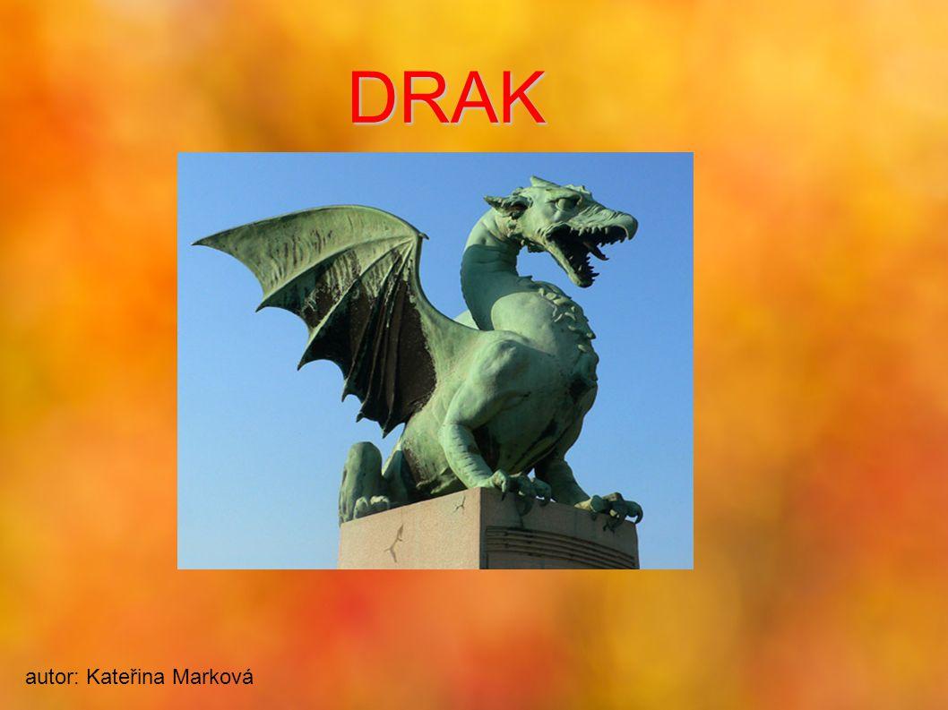 DRAK autor: Kateřina Marková