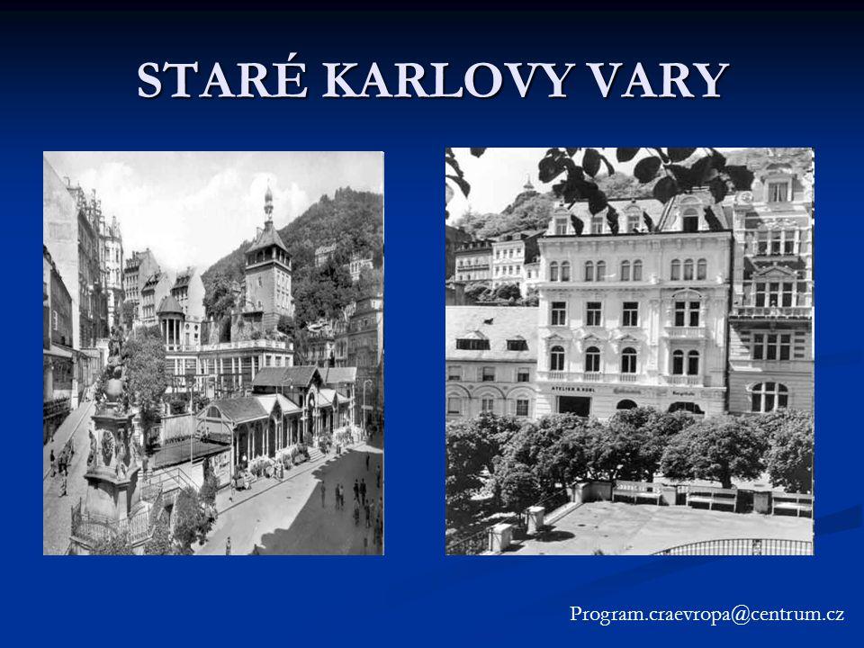 STARÉ KARLOVY VARY